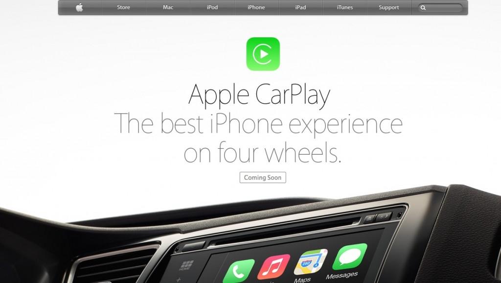 iOS (Apple) bientôt intégré dans votre tableau de bord (voiture) !