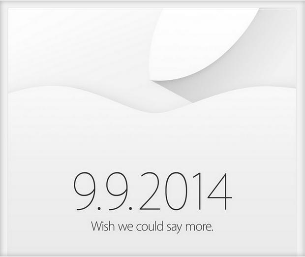 Keynote Apple : une invitation presse ultra-light !
