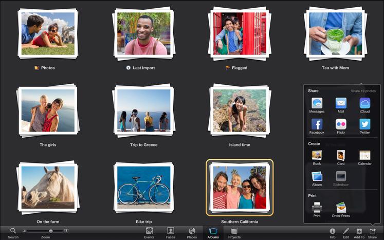 iPhoto, pour gérer, classer, présenter, partager ses photos !