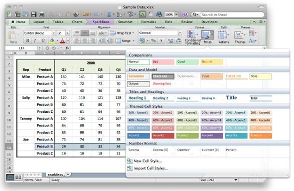 Excel (comme Numbers) permet de réaliser des tableaux de chiffres, de mesurer des progressions, d'établir des stats ...