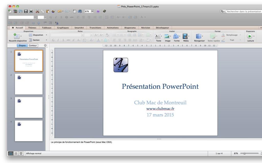 """Powerpoint, le logiciel """"historique"""" pour présenter un diaporama ou des slides. Comme un professionnel."""