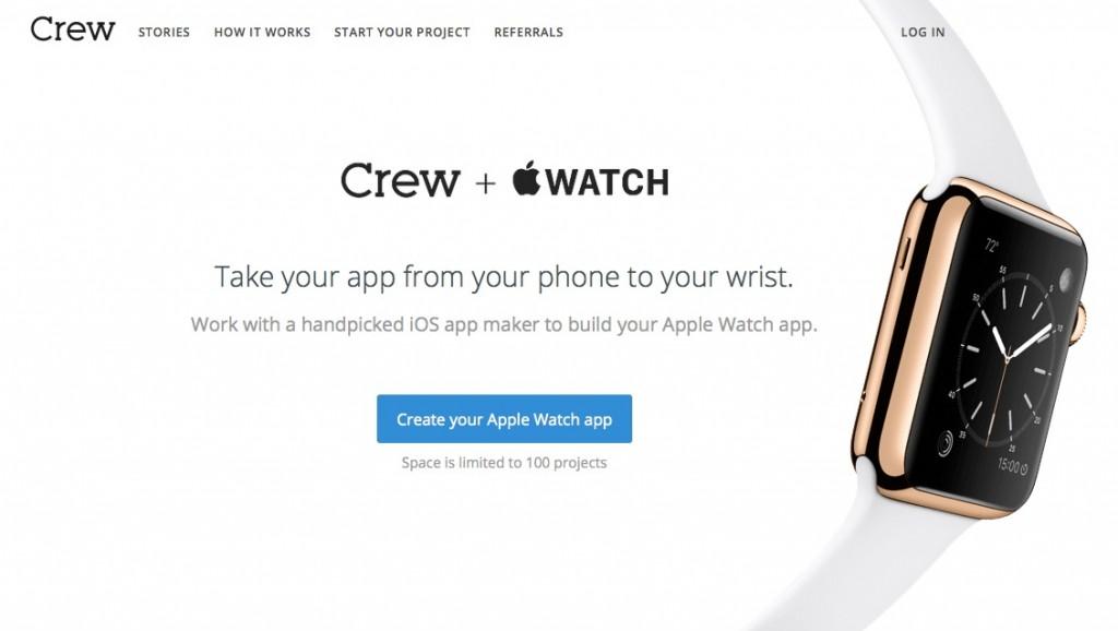 """Un site ressources pour créer des applications """"Apple Watch"""". Payant."""