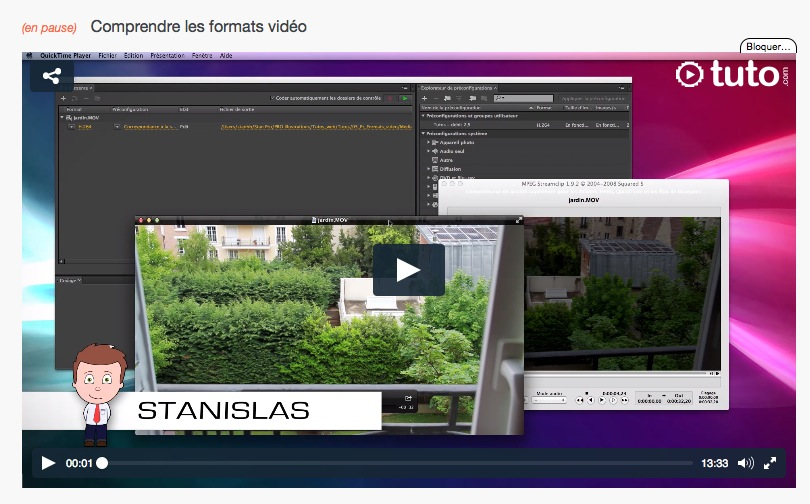 Un excellent tutoriel, clair et pédagogique, pour comprendre les formats vidéos. Top !