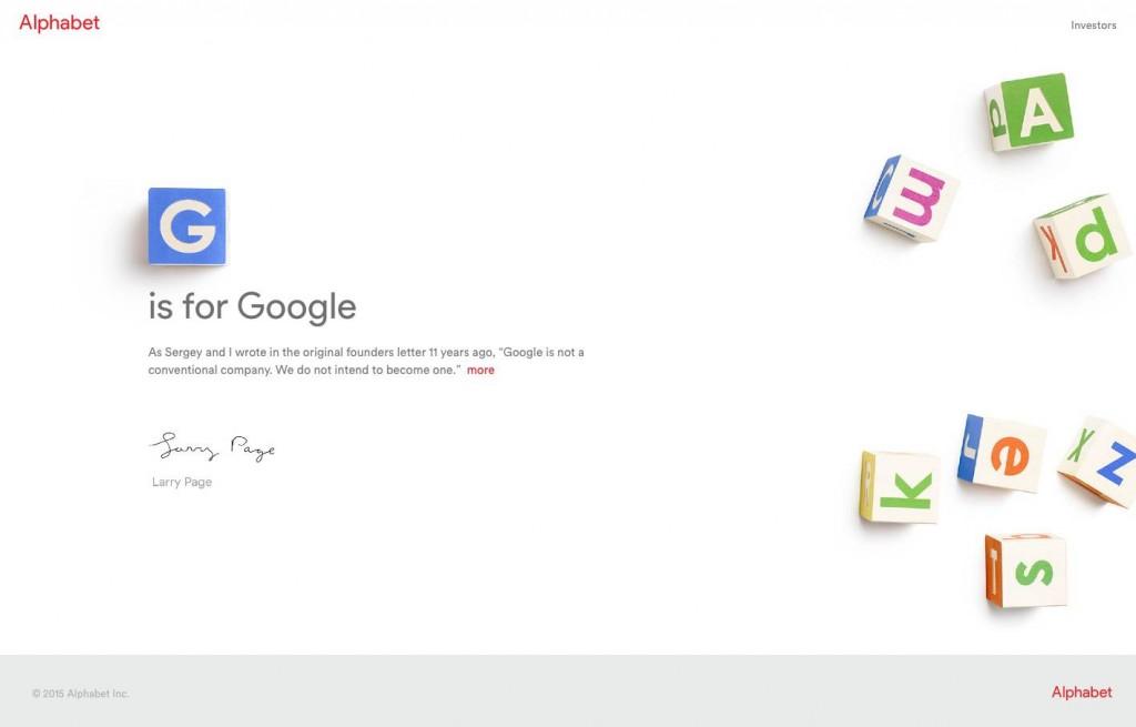 """Une Home Page minimaliste, selon la tradition """"Google""""."""