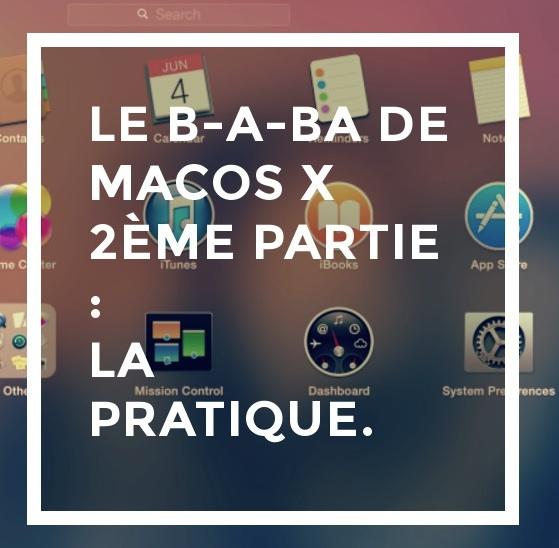 Fondamentaux du Mac : bonnes pratiques