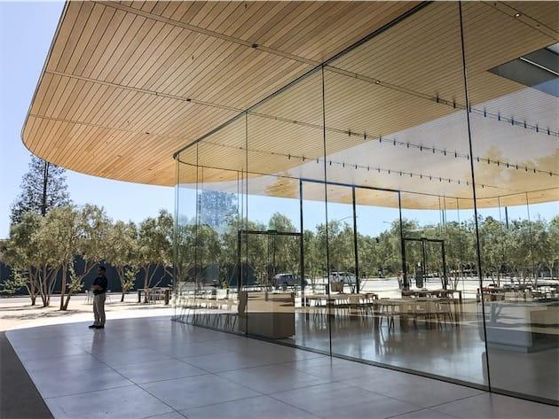 17/11/17 : Apple Park ouvre ses portes