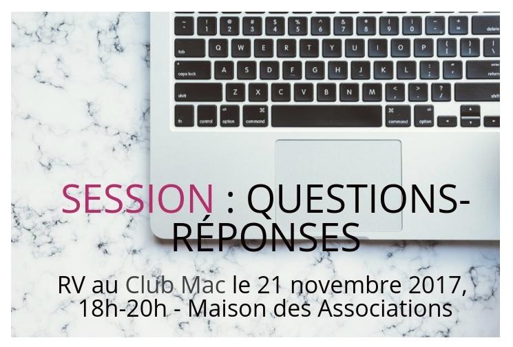 Questions-Réponses au Club Mac de Montreuil