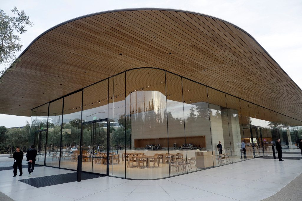 Visitor Center d'Apple
